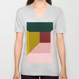 Abstract room Unisex V-Neck