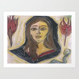 Hecate Phosporous ( Light Bringer) Art Print