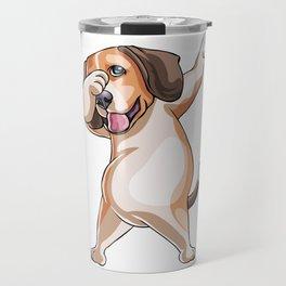 Beagle Funny Pet Puppy Dog Lover Travel Mug
