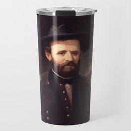 Portrait of Ulysses S. Grant Travel Mug