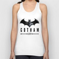 gotham Tank Tops featuring Gotham City   by J Styles Designs
