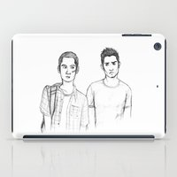 teen wolf iPad Cases featuring Teen and Wolf by Zalazny