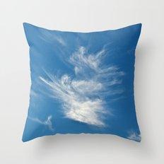 Dancing Sky Throw Pillow