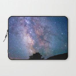 The Night Sky II - glowing stars Laptop Sleeve