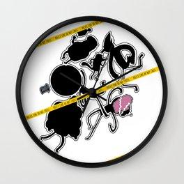 Regular Murder Show by zombieCraig Wall Clock