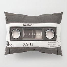 Cassette Tape Black And White #decor #homedecor #society6 Pillow Sham
