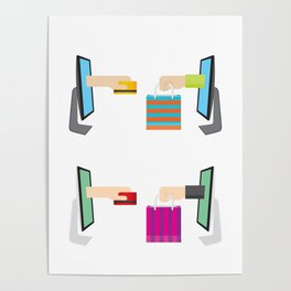 Cyber Monday Sale Special Offer Poster