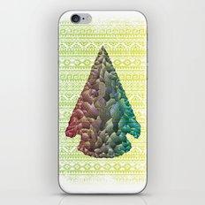 Neon Arrowhead iPhone & iPod Skin