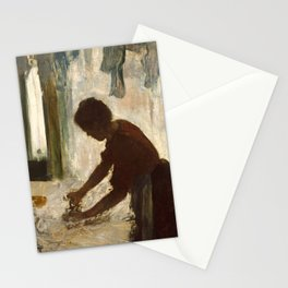 A Woman Ironing by Edgar Degas, 1873 Stationery Cards