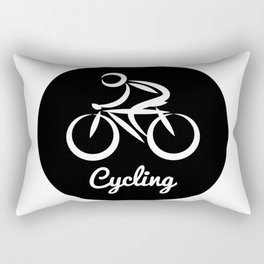 Cycling Rectangular Pillow