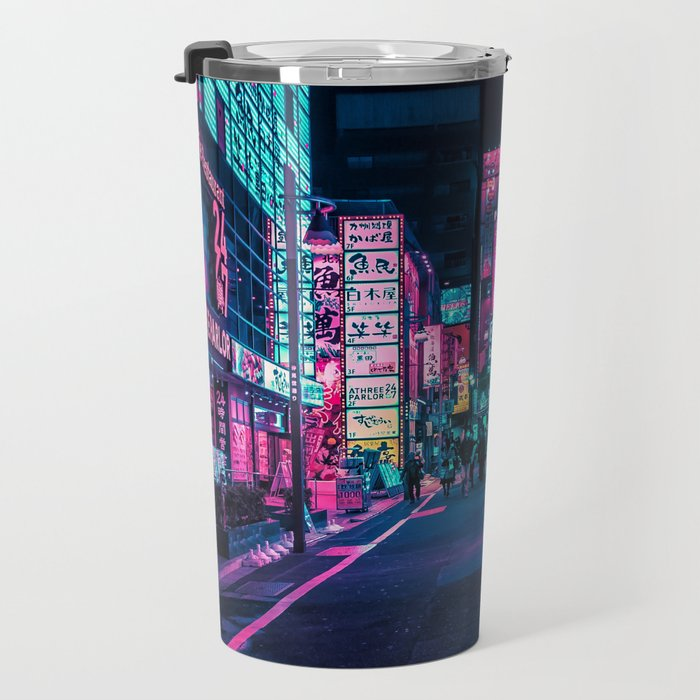 A Neon Wonderland called Tokyo Travel Mug
