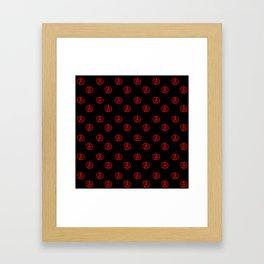 Symbol of anarchy 3 Framed Art Print
