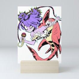 Mermaid Girl Mini Art Print