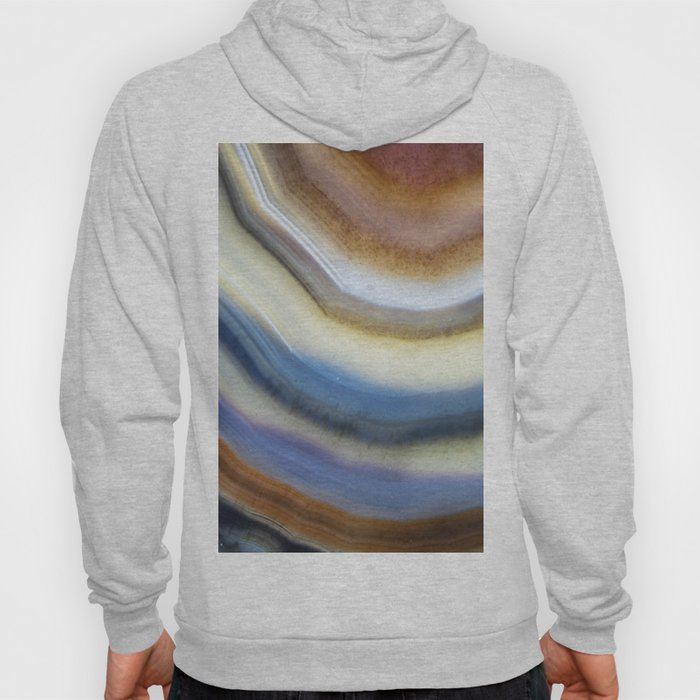Colorful layered agate 2075 Hoody