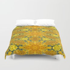Yellow Sunflowers on a Sunny Day Duvet Cover
