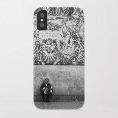 street musician iPhone X Slim Case