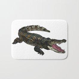 American Alligator Bath Mat