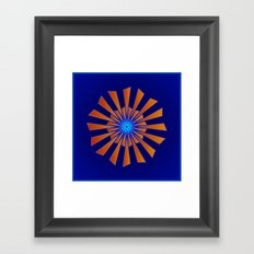 Spring Blue Framed Art Print