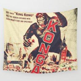 Konga - Retro Movie Wall Tapestry