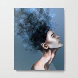 "OCD: ""Intrusive Thoughts"" Metal Print"