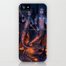 Warriors of the Deep iPhone Case