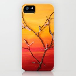Marked by Fire; Soul Tree iPhone Case