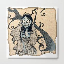 Corpse Bride Metal Print