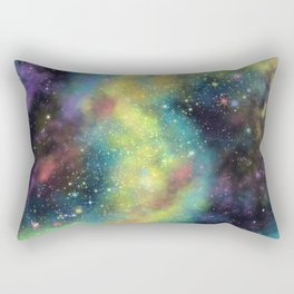 Cosmic dust Rectangular Pillow