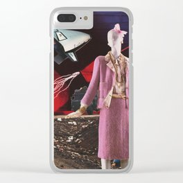 The Land of Tomorrow Clear iPhone Case