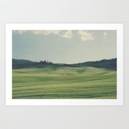 Hilly ho Art Print