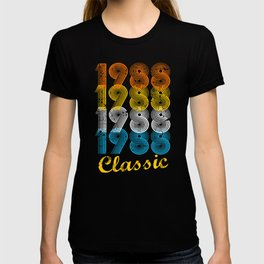 29th Birthday Gift Vintage 1988 T-Shirt for Men & Women T-Shirts and Hoodies T-shirt