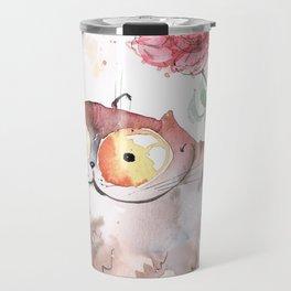 Saturday caturday Travel Mug