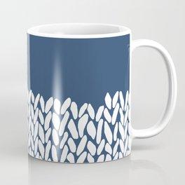 Half Knit Navy Coffee Mug