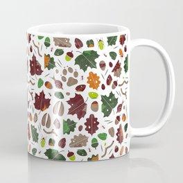 Forest floor tile pattern Coffee Mug