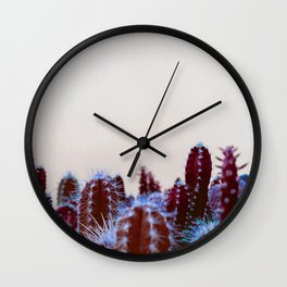 Abstract cactus Wall Clock