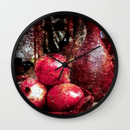 Pomegranates And A Pitcher Wall Clock