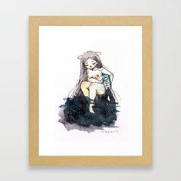 VIA LACTEA Framed Art Print
