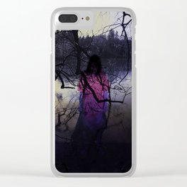 What Happened In The Woods Clear iPhone Case