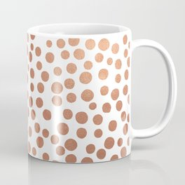 Copper Dots Coffee Mug
