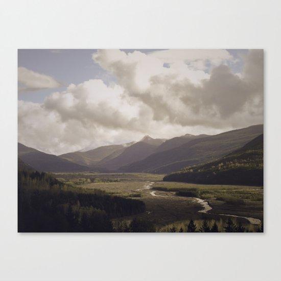 Toutle River Valley Canvas Print