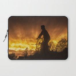 Fisherman's Memorial Sunset Laptop Sleeve