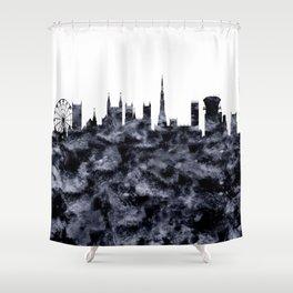 Bristol Skyline Great Britain Shower Curtain