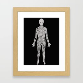 the illustrated man - bradbury Framed Art Print