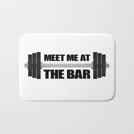 Meet Me At The Bar Bath Mat