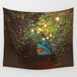 Follow the Lights (Color) Wall Tapestry