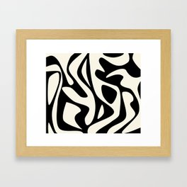 I Lava You Too Framed Art Print