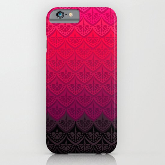 ELENA PATTERN - FLAMENCO VERSION iPhone & iPod Case