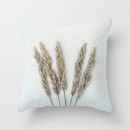 Summer Grass II Throw Pillow