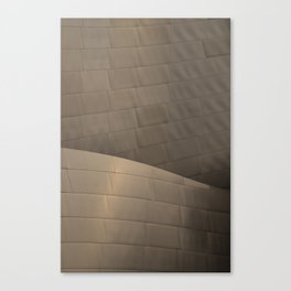 Architectural abstract of the home of the LA Philharmonic. Architect: Frank Gehry Canvas Print