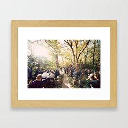 Inglewood Inn  Framed Art Print